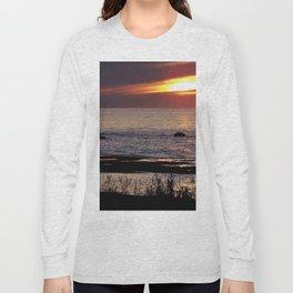 Surreal Seaside Sunset Long Sleeve T-shirt