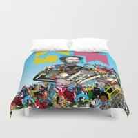 rave Duvet Covers featuring RAVE by DIVIDUS
