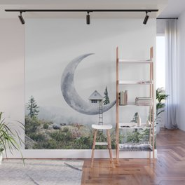 Moon House Wall Mural