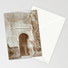 The Alhambra. Puerta de la Justicia Stationery Cards