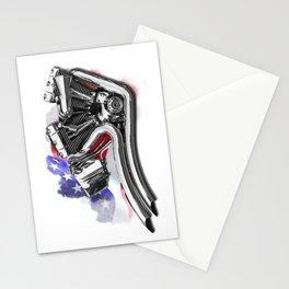 Harley engine Stationery Cards