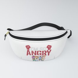 Vote 2020 End Racism So Angry I Could Vote Fanny Pack