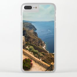 Oia Clear iPhone Case