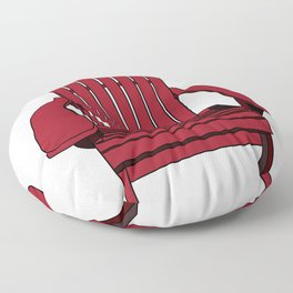 Sit back and relax in the Muskoka Chair Floor Pillow