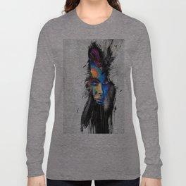 Facial Expression Long Sleeve T-shirt