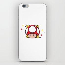 Super Mushroom iPhone Skin