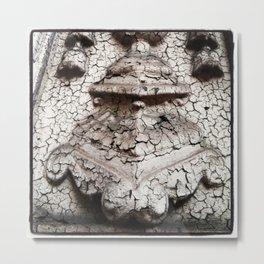 Crackled Emblem, NYC Metal Print
