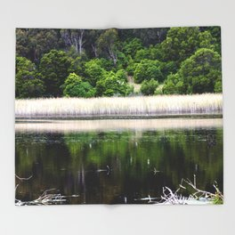 Tower Hill Wildlife Reserve Throw Blanket