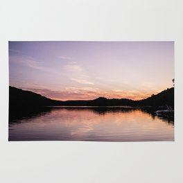 Sunset in the Laurentides, Canada Rug