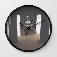 under the sea Wall Clocks featuring Under by Vale Esse