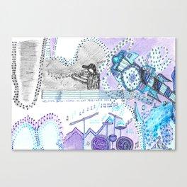 Music Heals Canvas Print