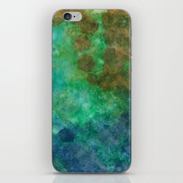 Stepping Into Unrecognizable Territory iPhone Skin