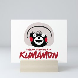 Chilling Adventures of Kumamon Mini Art Print