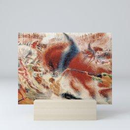 The City Rises, Umberto Boccioni, Futurism Mini Art Print