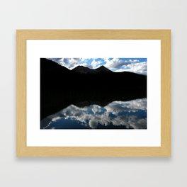 Fern Lake Reflection Framed Art Print