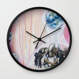 Sister Circle Wall Clock