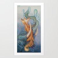 Truncated Siren Art Print