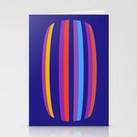 hamburger Stationery Cards featuring Abstract Hamburger by Betty Mackey