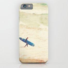 Surfer Photograph. Margin Walker iPhone Case