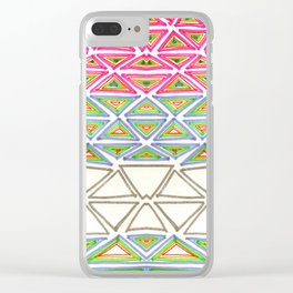 try angular symmetry Clear iPhone Case