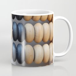 Manual mechanical abacus for accounting and financial calculations Coffee Mug