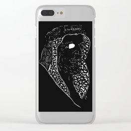 King Abdulaziz Clear iPhone Case