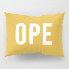 OPE Mustard Pillow Sham