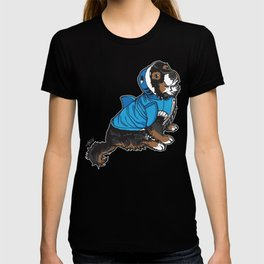 Vallie (Valentina) Leg-Wonk Shrimp-Dog the Magnificent T-shirt