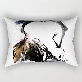 Shibari - Japanese BDSM Art Painting #8 Rectangular Pillow