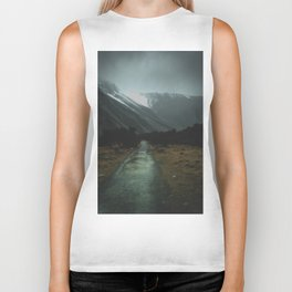 Hiking Around the Mountains & Valleys of New Zealand Biker Tank