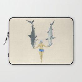 The Shark Charmer Laptop Sleeve