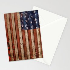 Stars and Stripes, America Stationery Cards