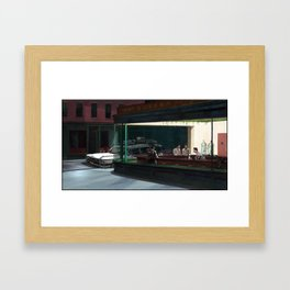 Night Busters Framed Art Print