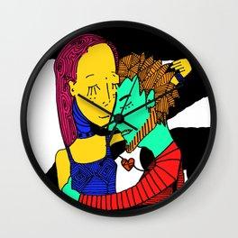 Amor Carnal Wall Clock