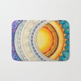 Sun, Moon & Stars Square Bath Mat