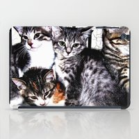 kittens iPad Cases featuring Adorable Kittens by Christy Leigh