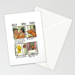 Deep Dark Fears 88 Stationery Cards