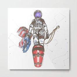 The Last Spaceman Metal Print