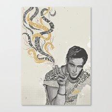 MARLON BRANDO - Quotes Art Canvas Print