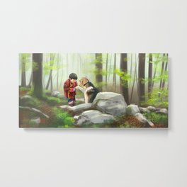 My Friend Metal Print