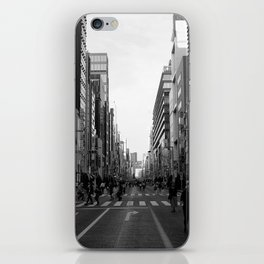 Ginza Street Tokyo iPhone Skin