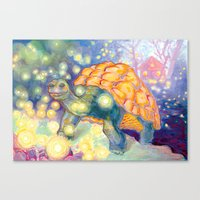 tortoise Canvas Prints featuring Tortoise by Gregery Miller