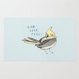 Live, Love, Preen Rug