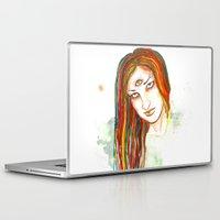 jesus Laptop & iPad Skins featuring Jesus by MsSophieArt