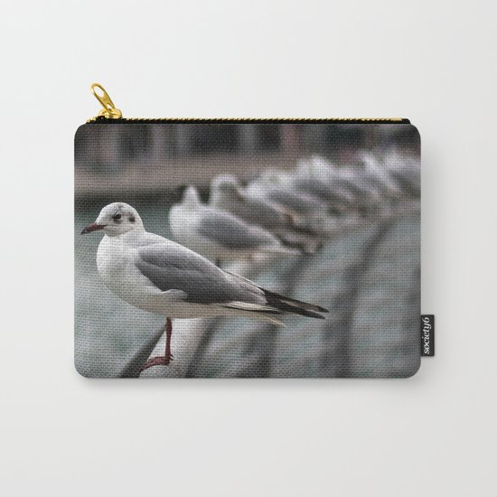 Seagull bird 4 Carry-All Pouch