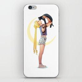 Usagi and Luna iPhone Skin