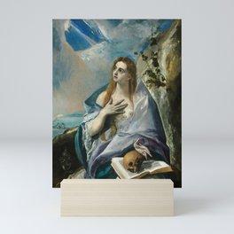 "El Greco (Domenikos Theotokopoulos) ""The Penitent Magdalene"" Mini Art Print"