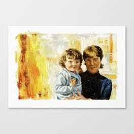 mother and child 1 Canvas Print