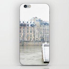 Stairway to the Seine iPhone Skin