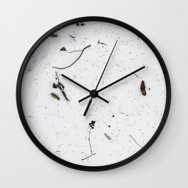 Snø Wall Clock